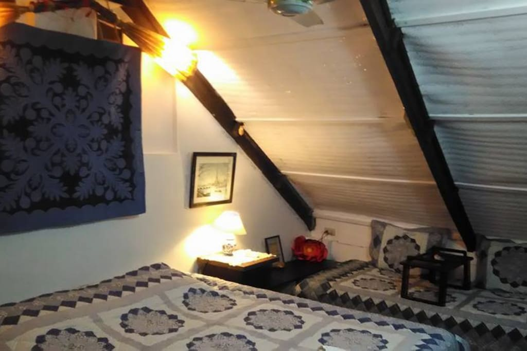 Loft room with extra bed