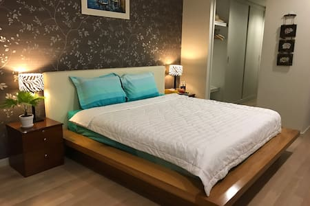 # 302 LUXURY Master Bedroom + FREE Pool - Ho Chi Minh - Huoneisto
