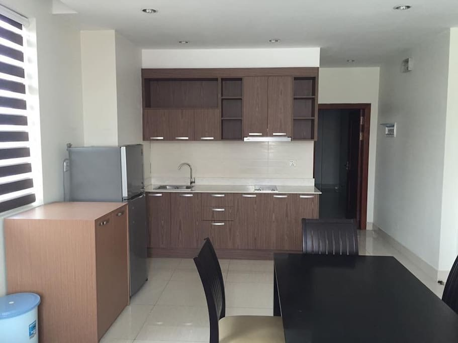 kitchen for our one bedroom unit