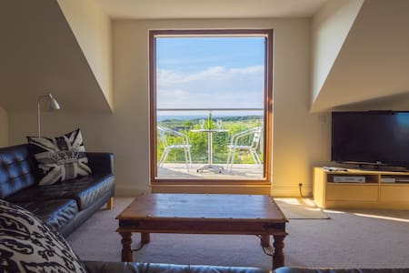 Gullaneholidayapartment - with glorious sea views - Gullane