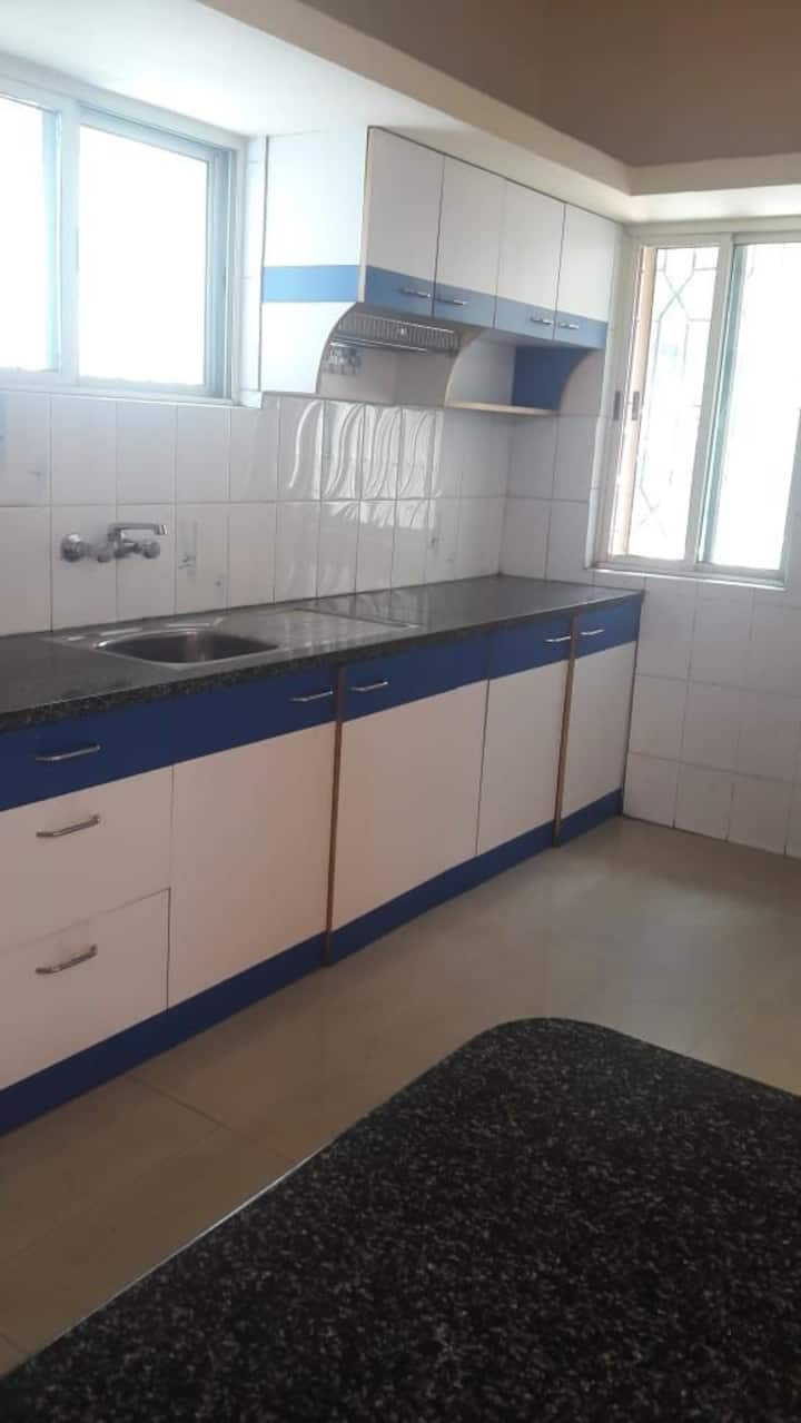 2BHK semi furnished homely stay with 2 huge sitout