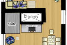 Cottage Top Floor Plan