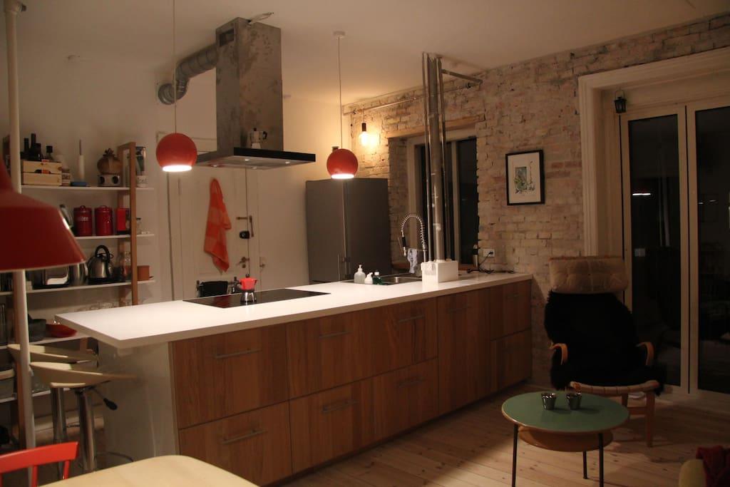 Ny istandsat Køkkenalrum