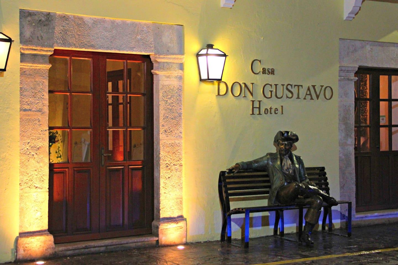 Bienvenida a Hotel Boutique Casa Don Gustavo