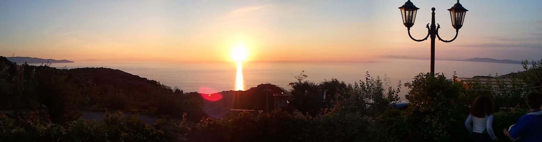 Monteargentario panorama mozzafiato e tranquillità - Porto Santo Stefano - Villa