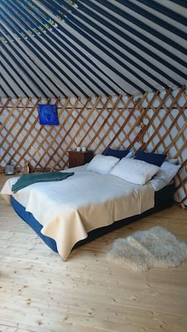 Experience unique and beautiful Mongolian yurt