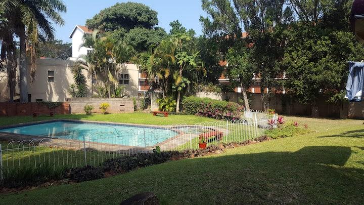 Durban Botanical Garden's home away from home.