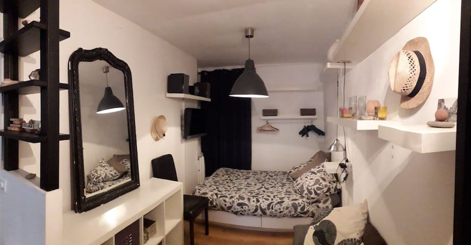 Quiet & comfy studio in Paris
