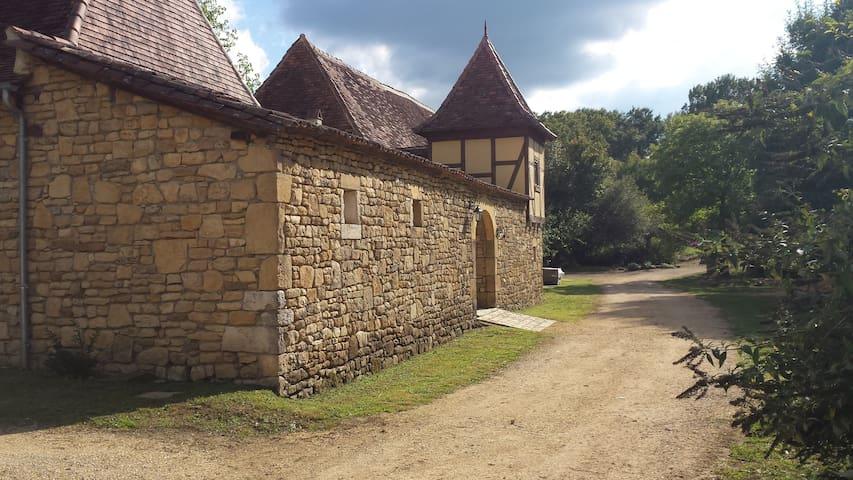 Propriété du XVIII sur 15 Hectares au calme - Saint-Sulpice-d'Excideuil - Rumah