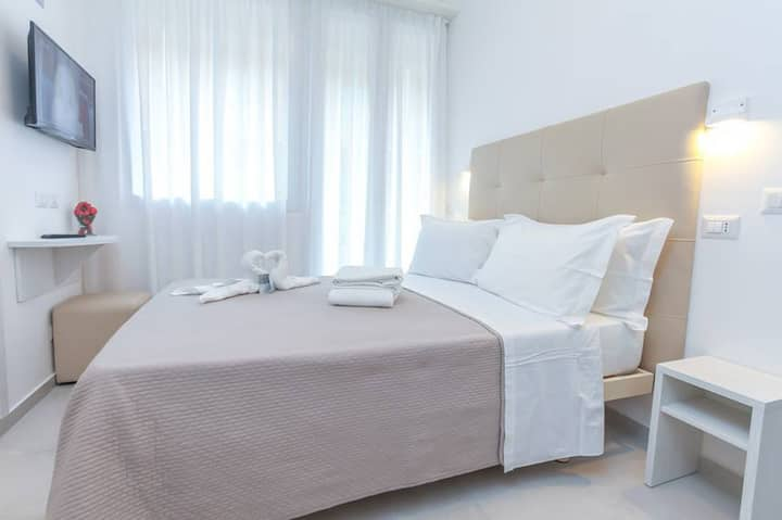 Double queen-bed room - Rimini