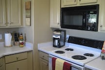 Cute Kitchen open to dining and LR