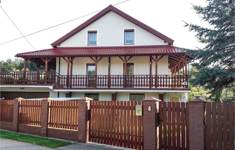 Holiday apartment with 2 bedrooms on 50m² in Ostróda