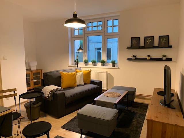 Moderní byt v centru Oseka