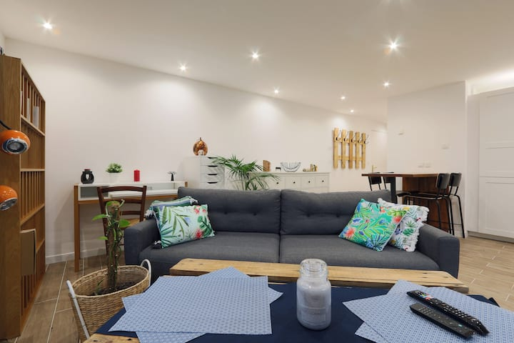 Appartement moderne et lumineux proche de Tours
