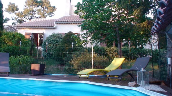 Grande villa en Provence Ventoux Bedoin village