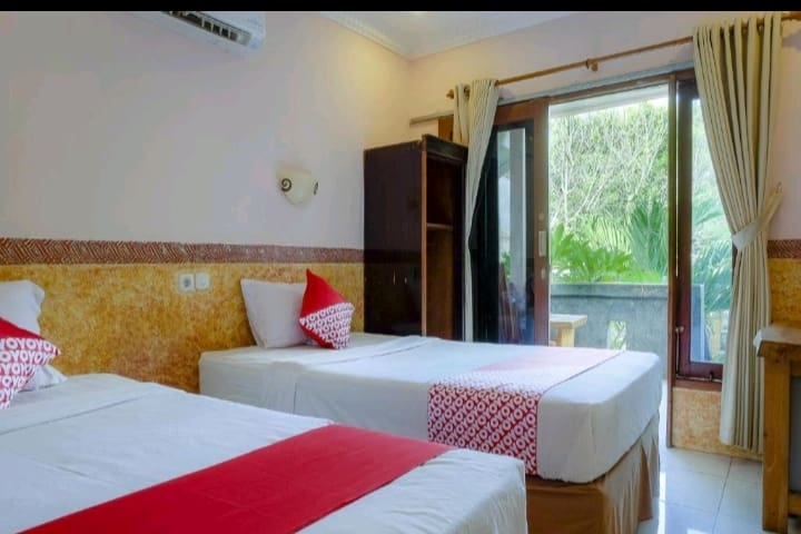 Deluxe Twin rooms # James Bungalow
