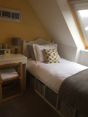 Small bright single room