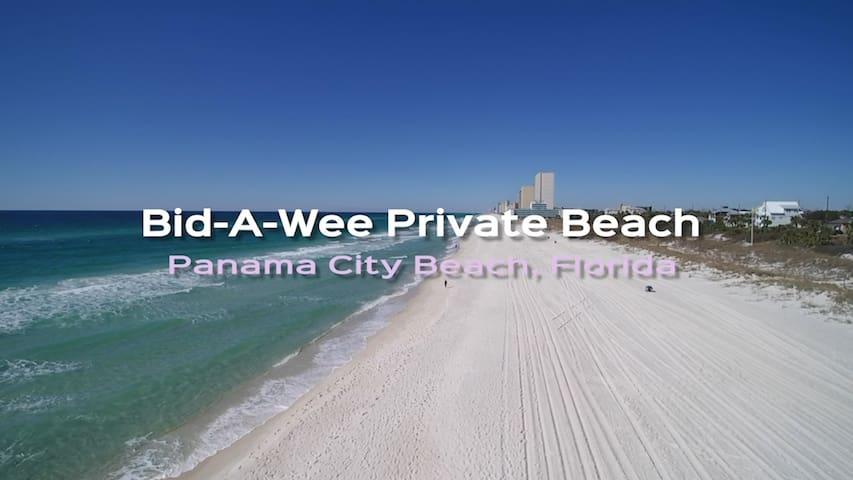 "Bid-A-Wee ""Salty Suite""  private beach access"