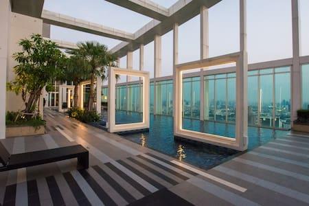 Cozy Room BTS Ari+Wifi+Sky High Fac - Bangkok - Wohnung