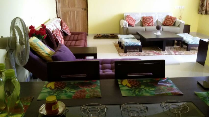 Fully serviced Goa holiday home - Bicholim