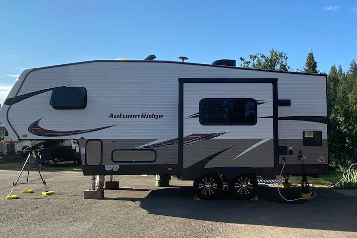 Mountain View RV Site in Soda Springs Idaho