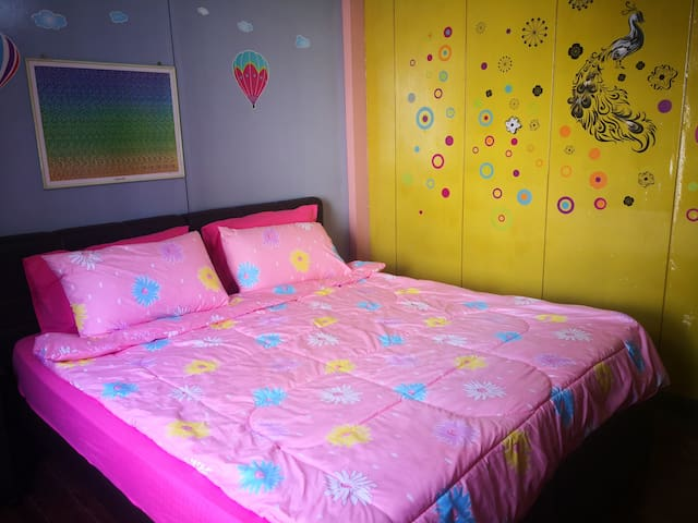 Kind double bed for 2 persons