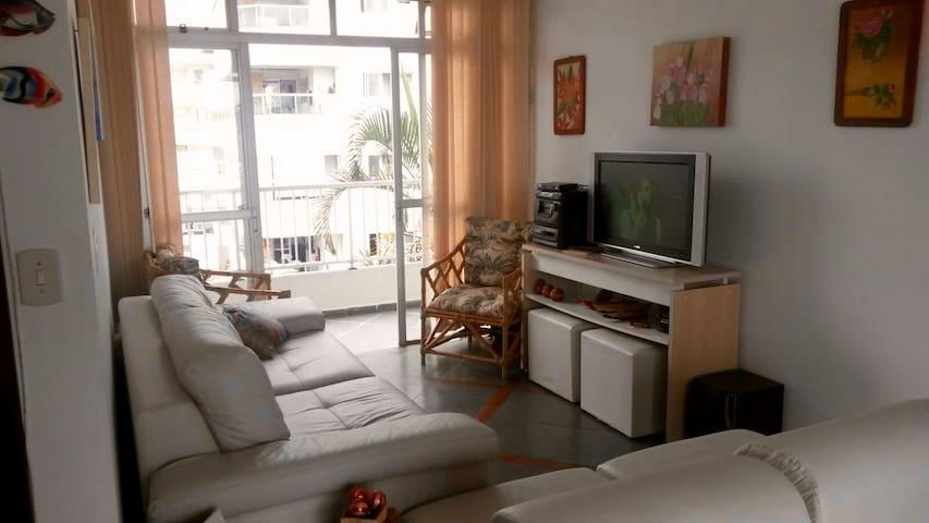 Penthouse apt, large patio w/ grill - Ubatuba - Apartment
