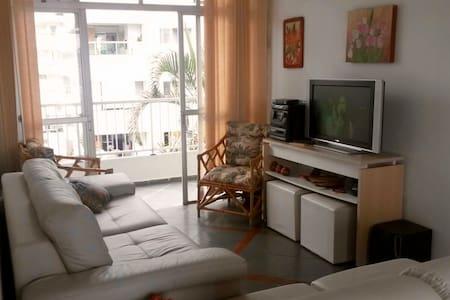 Penthouse apt, large patio w/ grill - Ubatuba - Appartamento