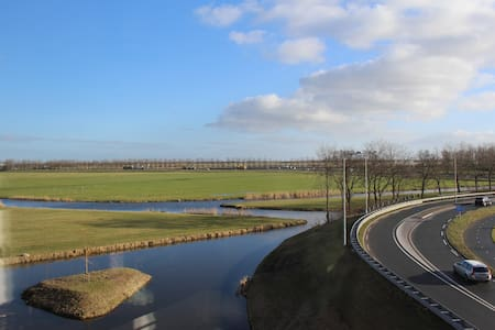 Apartment with view, near Amsterdam! - Uitgeest