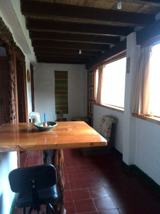 Sala comedor con vista panorámica