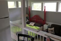 lower level bedroom /living room