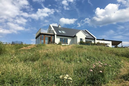 Modern beach house, amazing views - Louisburgh