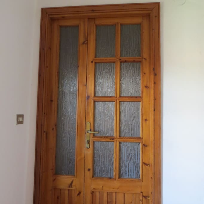 Door of the apartment