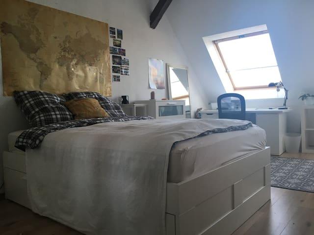 Cozy Room in Leipzigs pintoresque neighbourhood