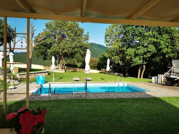 Villa Aspilon Studio 4 Personen Pool Traumblick