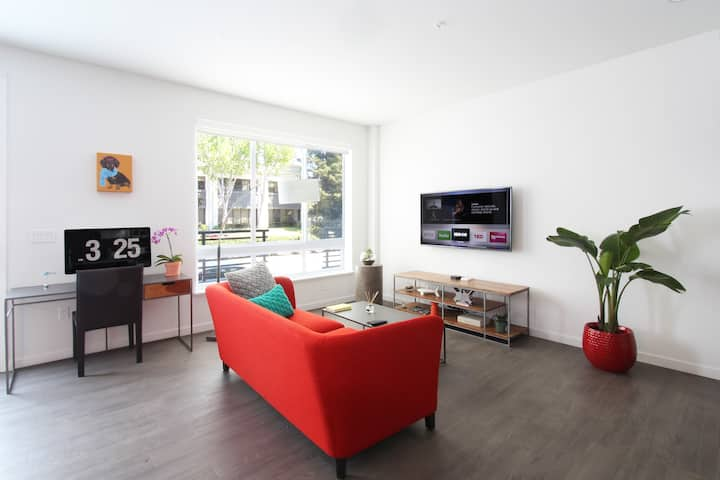 TRIBE ❤️ Clean, Modern & New 1BR in North San Jose