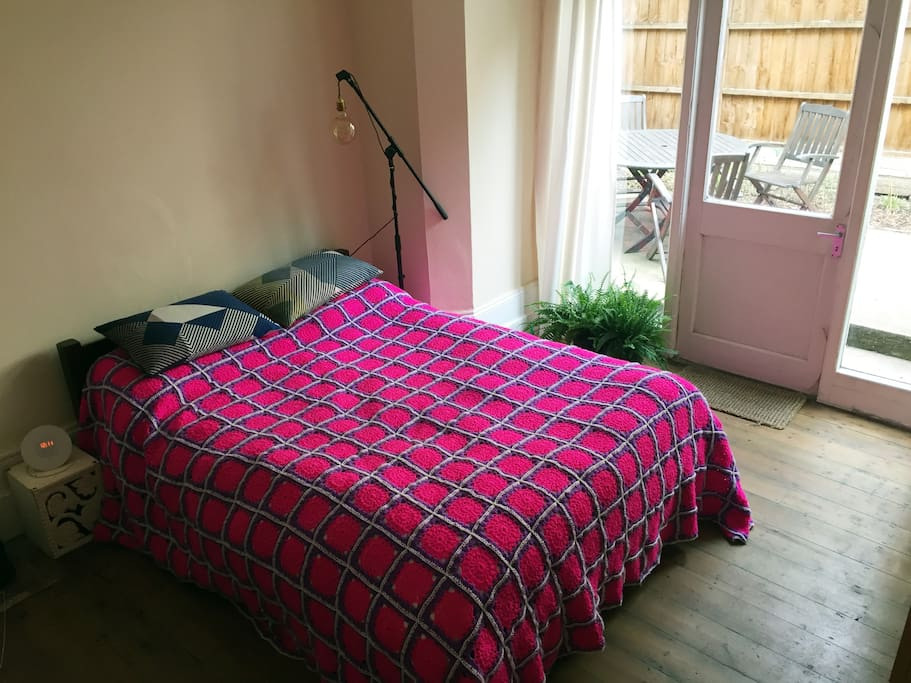 Bedroom towards back of house