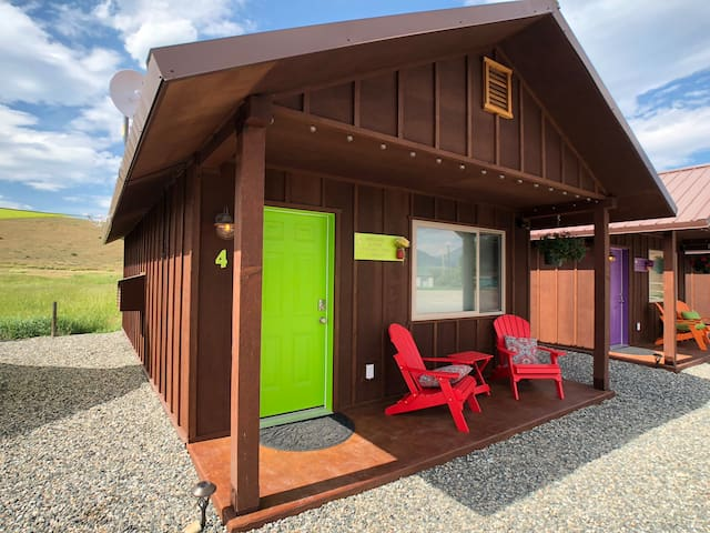 Tiny Cabins for your Yellowstone  Adventure