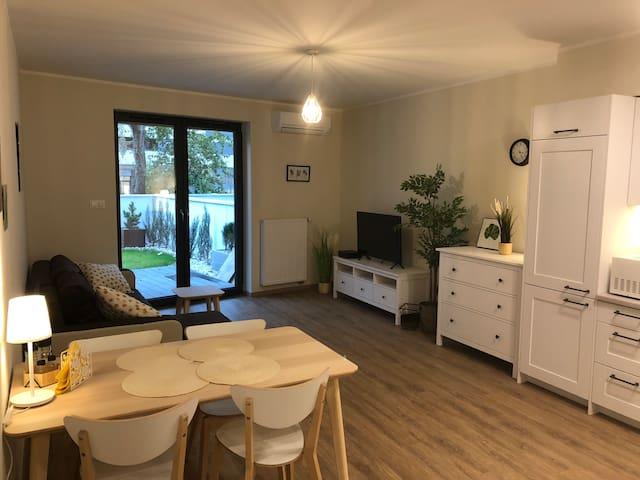 Nowoczesny apartament w atrakcyjnej lokalizacji
