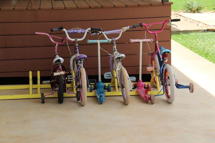 Plenty of bikes to share