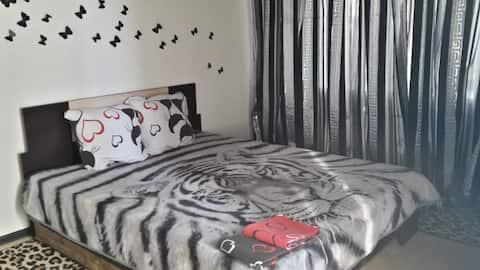 Квартира с бабочками