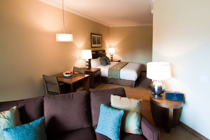 Luxury Studio Suite with Ski-In Ski-Out Access