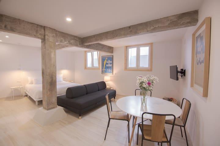 NEW! Coqueto estudio de 40 m2