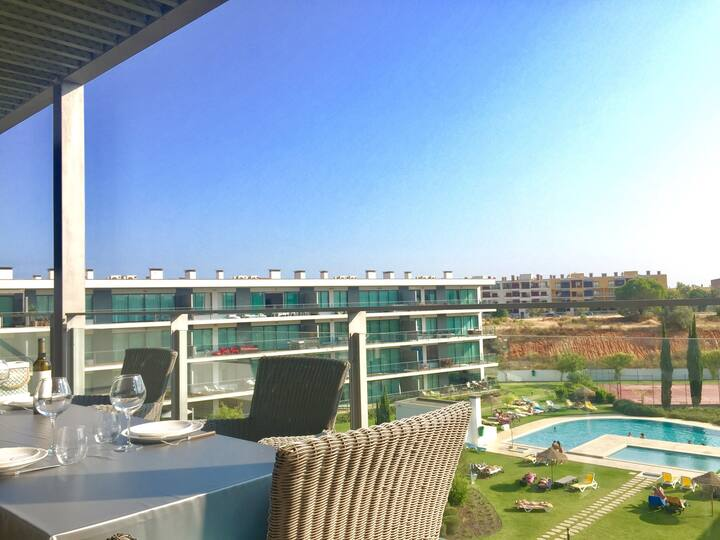 VILAMOURA, Résidence GOLF CLUB , amazing terrace!!