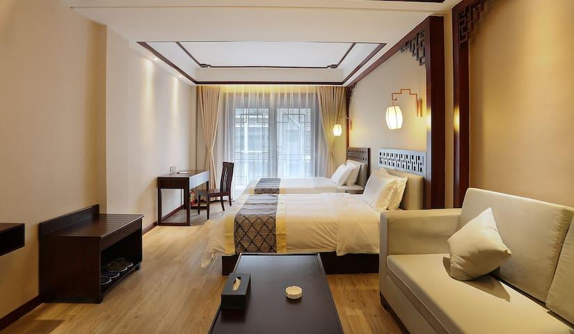 高级豪华双床房 - Xiangxi