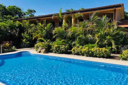 In Tamarindo Beach-Green Village#1-New Pool~Ranch~