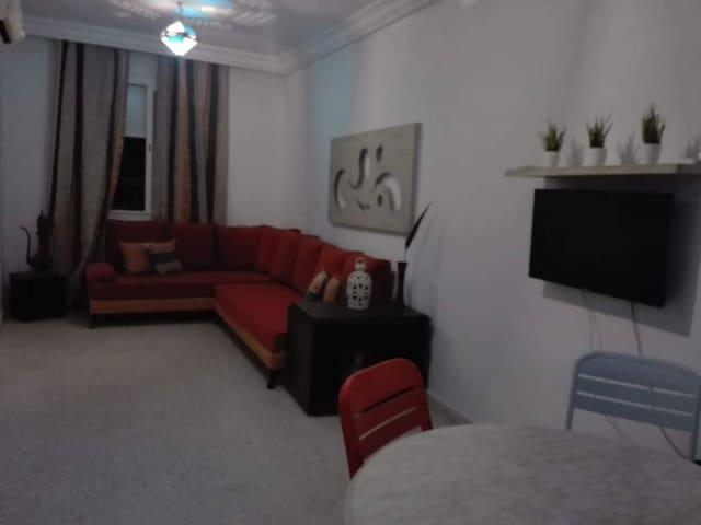 Un bel appartement tout près de la mer à Hammamet