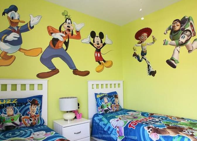 Toy story themed condo - 3 bedroom