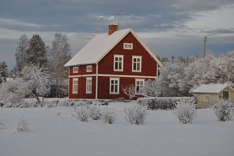 Mitt hus sett söder ifrån