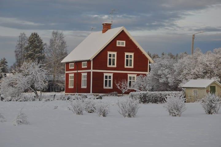 Kind of oldstyle house in Noret Dala-Järna